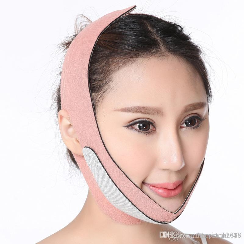 Hopeforth Face Lift Up Belt Thin Face Mask Slimming Facial Massager Double Chin reducer Shaper Bandage