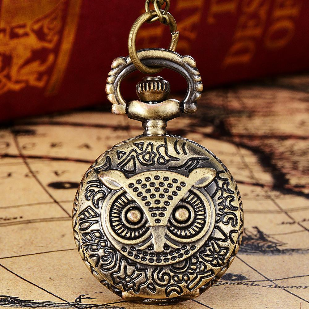 Старинные Мужские кварцевые карманные часы бронзовый тон паук веб-дизайн цепи кулон мода мужская карманные часы подарок Relogio masculino
