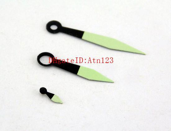 Orologio da polso luminoso verde nero per le mani in forma ETA 6497/6498 Orologio da polso da uomo Seagull ST3600 / 3620 Accessori P335