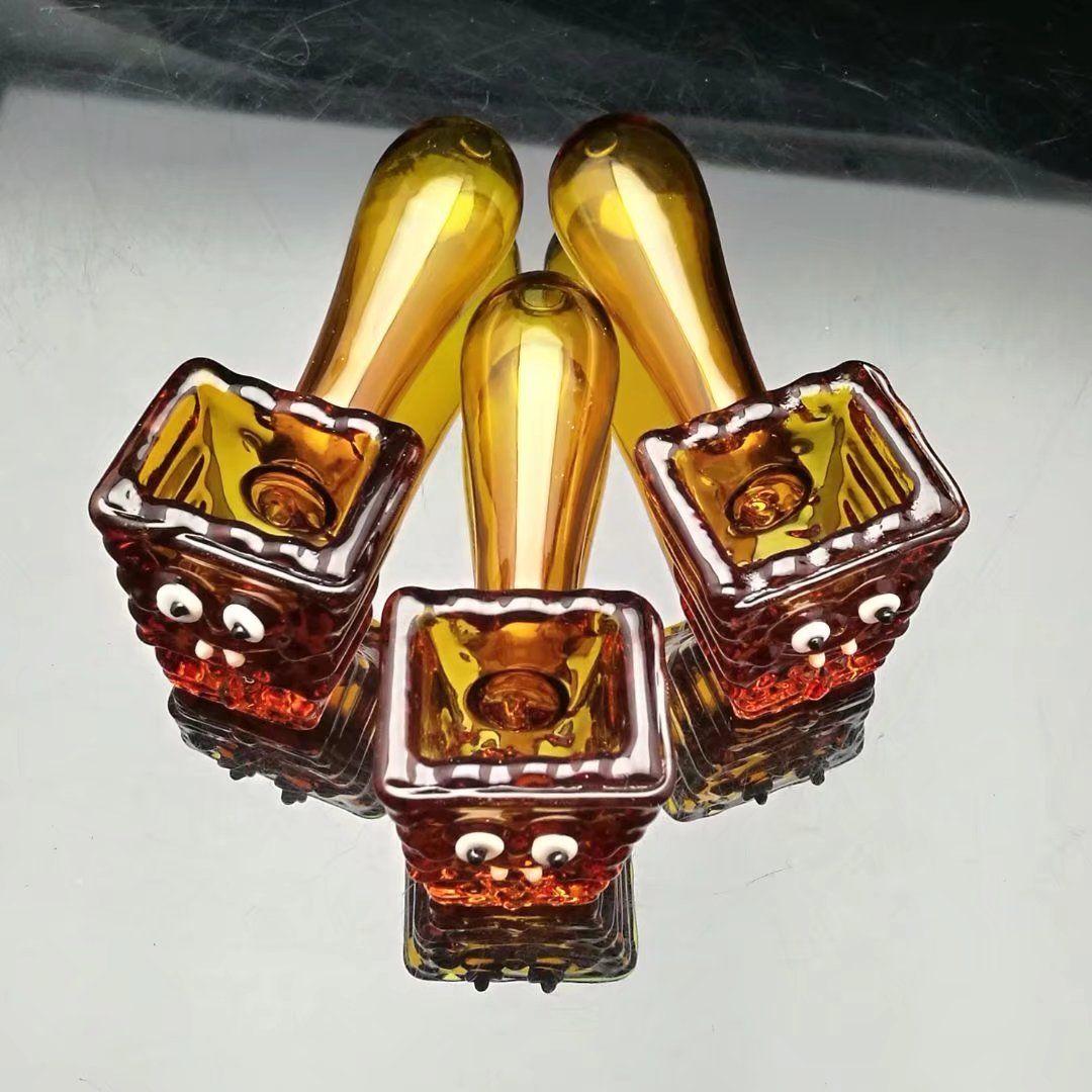 Hasıla, amber cam boru varil Toptan Cam bonglar Yağ Brülör Cam borular Su Borusu Yağ Sondaj yağı.