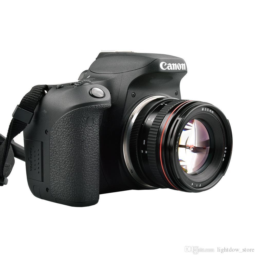 50mm F1.4 Large Aperture Portrait Manual Focus Camera Lens