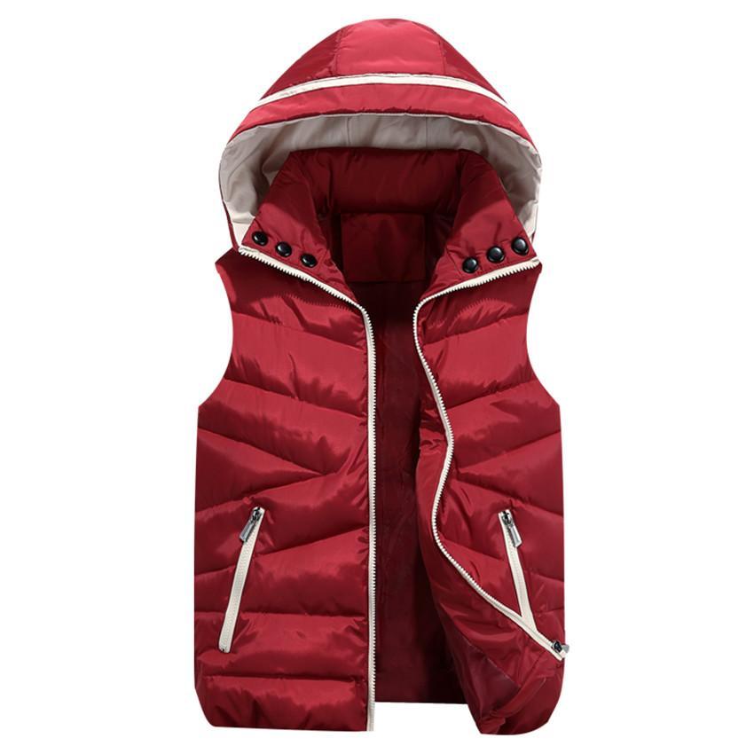2017 Nuevo Otoño Invierno Mujeres Chaleco Parka Cálido Chaquetas de Algodón Acolchado Abrigo Chaqueta de Punto Chaqueta Rebeca Chaqueta de Mujer Outwear AB666