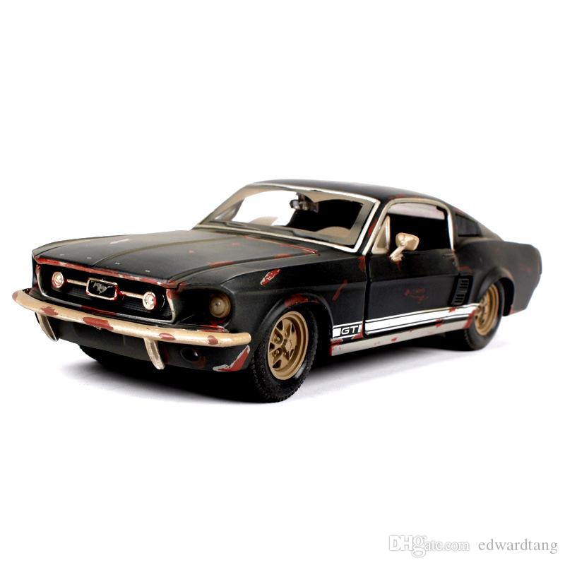 Maisto Diecast Alloy Ford Mustang GT Model Car Toy, Jeep Wrangler SUV, 1:24 Scale, Ornament, Xmas Kid Birthday Boy Gift, Collecting, 2-1