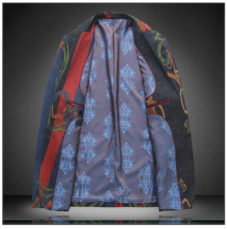 LONMMY 3XL 4XL Mens çiçek blazer ceket mens suit Slim fit Rahat Gelinlik blazer erkekler Moda Giyim 2018 Bahar Sonbahar