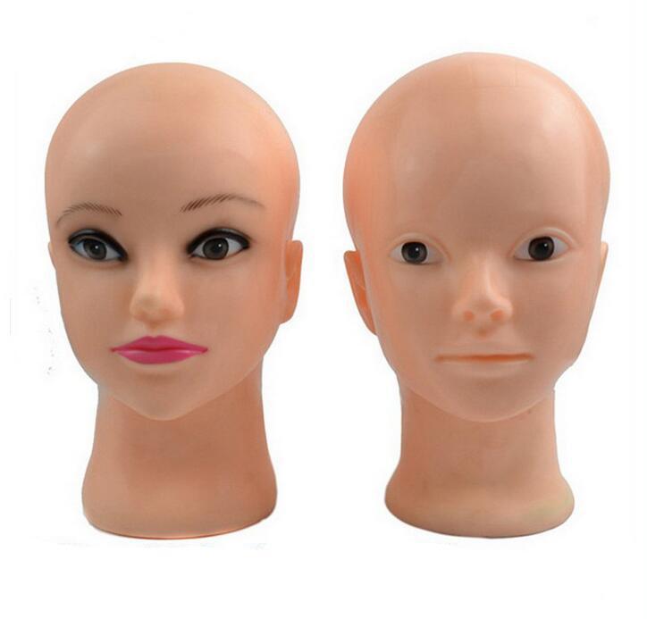 make up head model Modello di testa femminile con testa di manichino