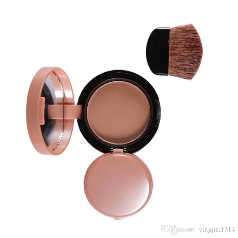 Face Blusher Lovely Palette Makeup Blush Powder Professional Bronzer Red Cheek With Brush Kits By Brand Music Flower