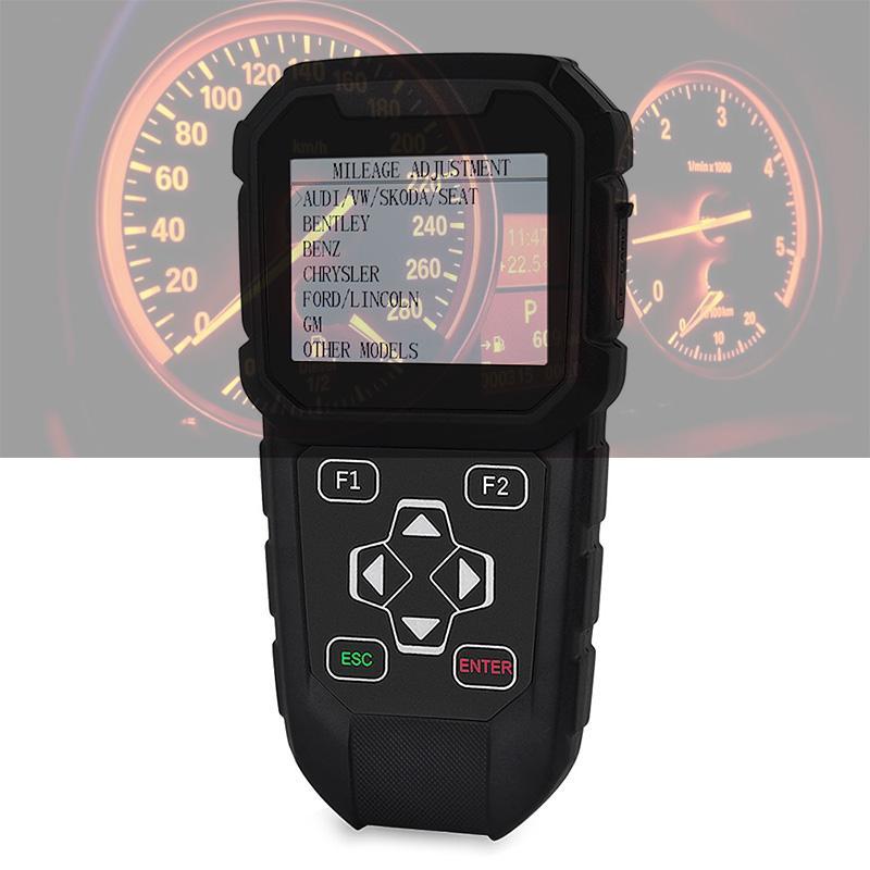 주행 거리계 보정 보정 도구 + OBD2 스캐너 주행 거리 진단 도구 MT401 주행 거리 재설정 진단 도구