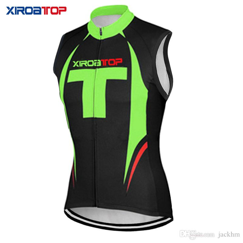 New brand XIROATOP Sleeveless Cycling Vests Jersey Breathable MTB Bicycle Clothes Bike vest Jersey Ropa Maillot Ciclismo Bike vest Mayo