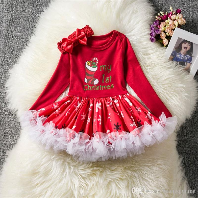 Bébé Fille Noël Cosplay Party Costume Robe Fantaisie Vacances SANTA CLOTHES