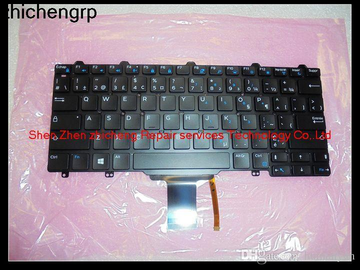 Zhichengrp For Latitude E7250 E5250 Laptop French Backlight Keyboard Without Frame 9jk9v Pk1313o1b09 Old Computer Parts Online Computer Components From Humanyun 25 93 Dhgate Com