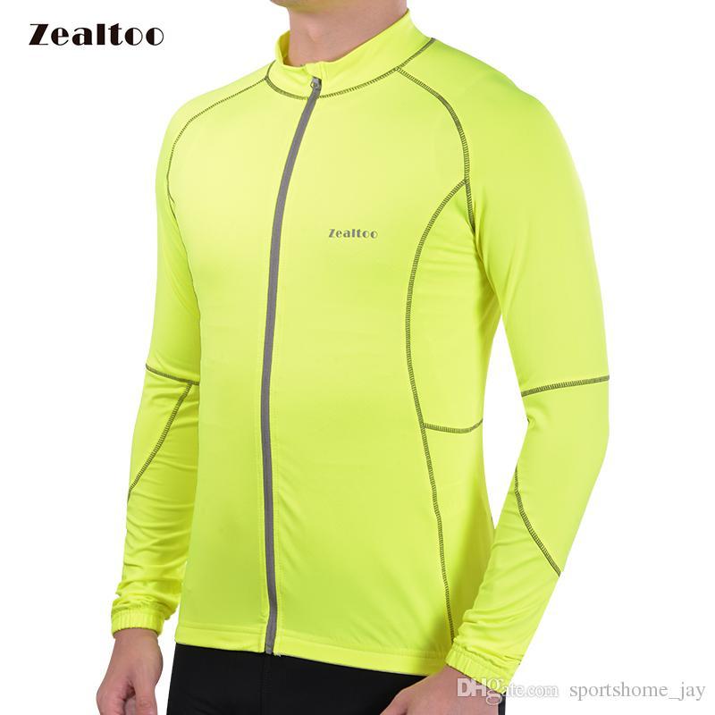 Yeşil Bisiklet Jersey Mtb Bisiklet Giyim Bisiklet Aşınma Giysileri uzun kollu Maillot Roupa Ropa De Ciclismo Hombre sonbahar