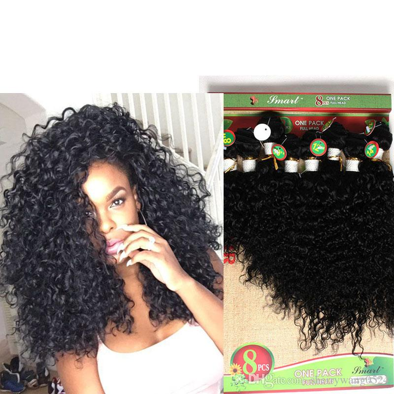 Afro Kinky Curly human Hair Weave Jerry curly hair Bundles 8 10 12 14 Inch Ombre Color Two Tone T1B/27/30/BUG Curly Hair extension 300gram