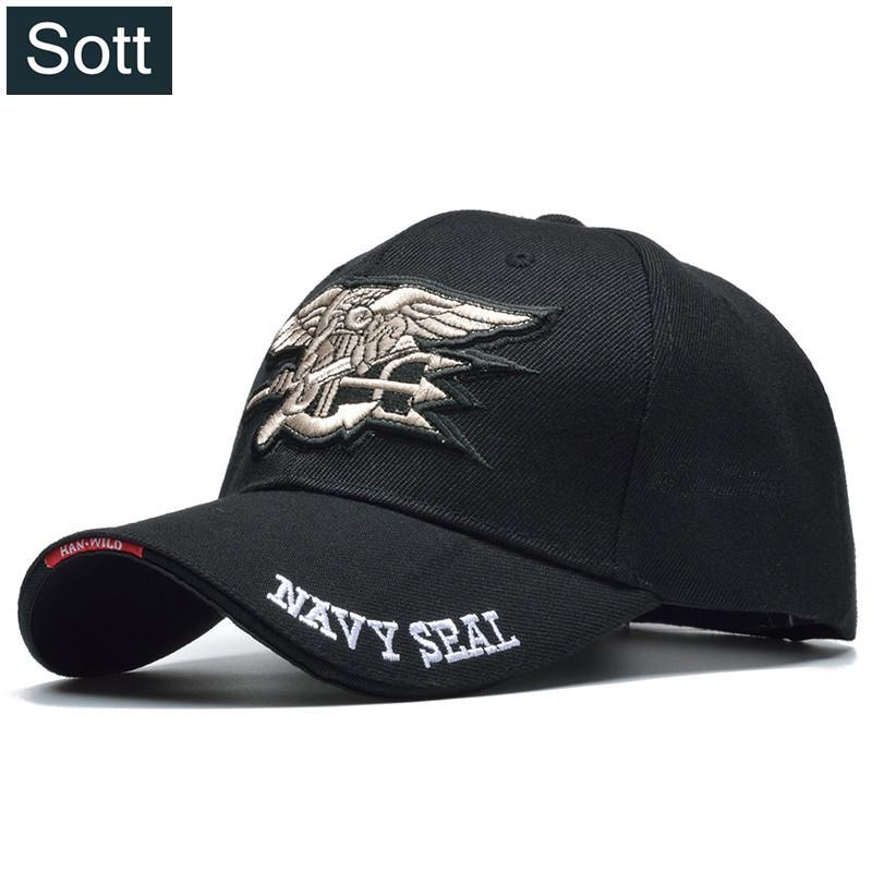 [SOTT] Été Cool Mâle US Navy Seal Cap Air Doux Tactique Os Gorras Baseball Caps Armée Chapeau Solider Casquette