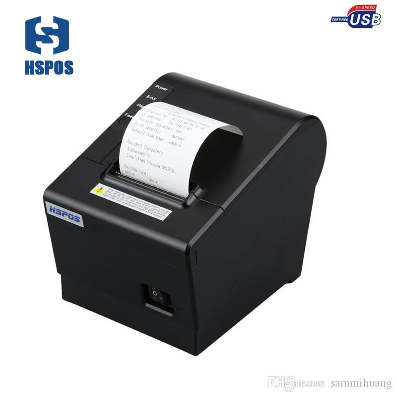 자동 커터 K58CU 저렴한 USB 열 영수증 프린터 POS 5890 드라이버 고품질 58mm 인쇄 기계