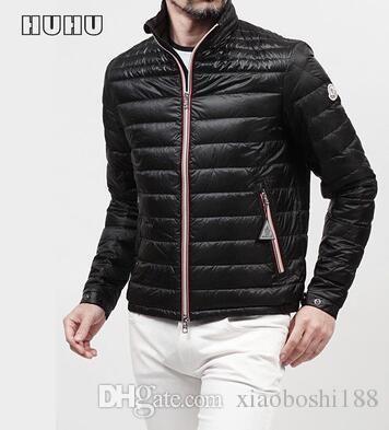 Acheter M115 DANIEL Marque Anorak Hommes Printemps Automne Veste Hommes Mince Veste Veste Hiver Meilleure Qualité Chaud Plus La Taille Homme En Bas Et