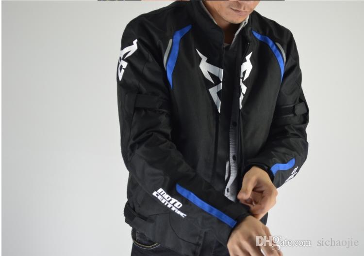 Nuova MotoCentric inverno caldo oxford moto fuoristrada giacche da equitazione abbigliamento da corsa giacca da ciclismo impermeabile hanno protezione