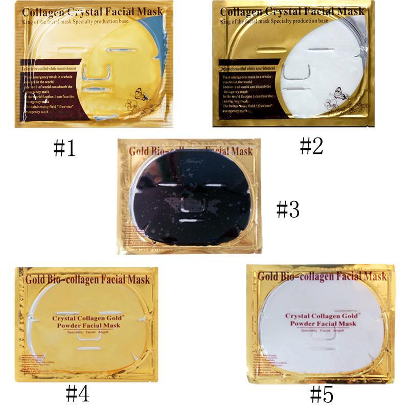Gold Bio-Collagen Maschera facciale Maschera viso Maschera di cristallo in polvere in polvere collagene viso maschere idratante prodotti di bellezza 3006073