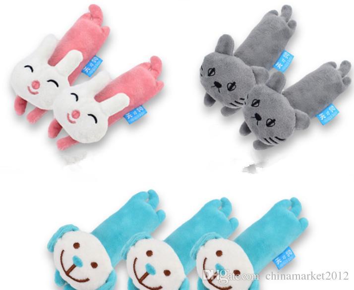 Ücretsiz kargo pet köpek yavrusu oyuncak peluş tavşan köpek kedi yavrusu ses köpek oyuncak üç stilleri 20 adet / grup