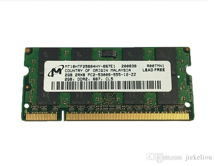 for Asus A8 F8 J8 X81S X86 Z99 Z99L X59S A8SC X8A X80Z X81 X82 Laptop 4GB DDR2 667 RAM 2GB 2Rx8 PC2-5300S 200-PIN SODIMM memory