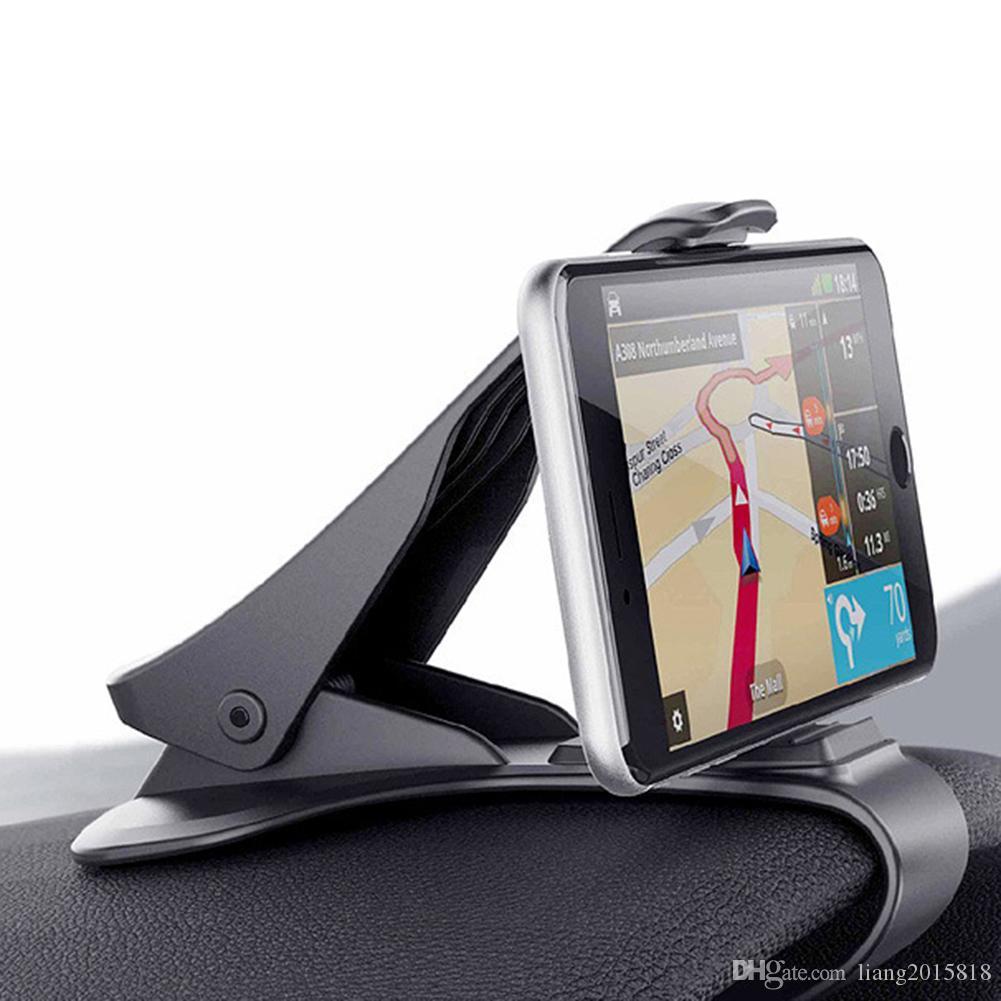 Новый автомобиль приборной панели смарт-телефон GPS держатель стенд авто зажим клип на устойчивый универсальный стайлинг автомобиля