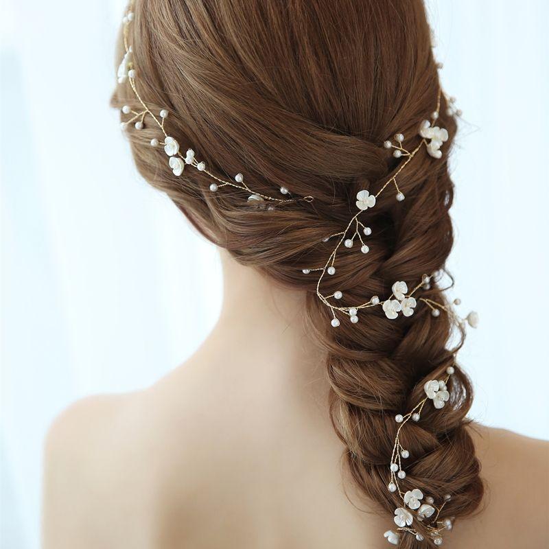 Wedding Party Prom Handmade Headband Hair Ornaments Hair Comb Bridal Headpiece