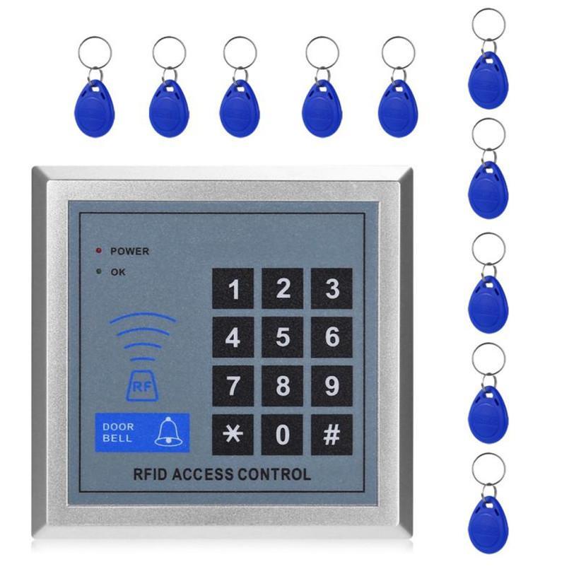 Curável 2017 250 stan Car C usuários 1 set Sistema de Controle de Acesso Eletrônico Coor Lock Com 10 Chave C