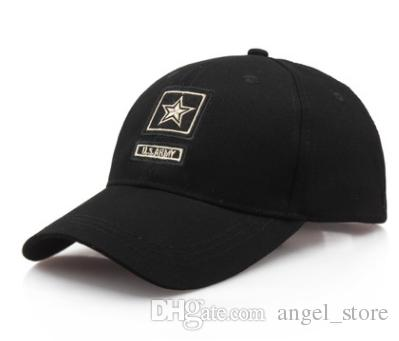 Yeni geldi ABD Hava Kuvvetleri Işlemeli Mektuplar Taktik Kapaklar Beyzbol Şapkası Erkekler Ordu Kap Açık Spor Şapka snapback kap