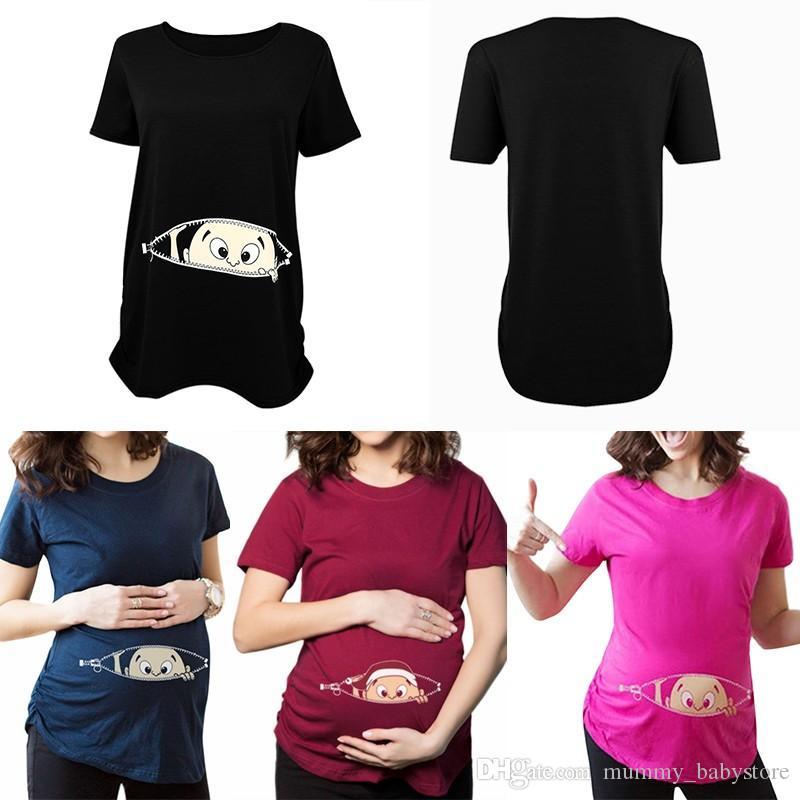t-shirt femme enceinte avec inscription
