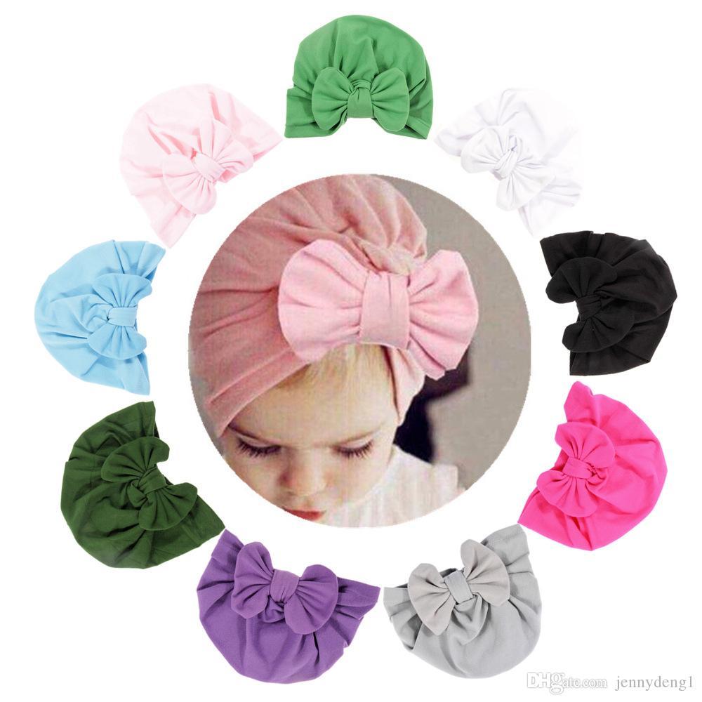 nueva llegó niños de alta calidad bowknot accesorios de bebé al por mayor de la decoración del casquillo