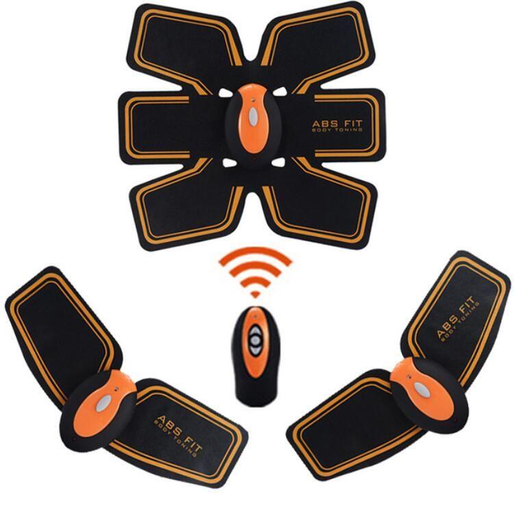 Nouveau rechargeable sans fil contrôle électrique Stimulateur musculaire EMS corps amincissant les muscles abdominaux corps tonifiant bras taille Massager