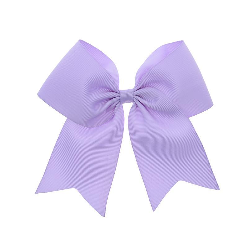 hair bows ribbon girl accessories head clip purple black medium