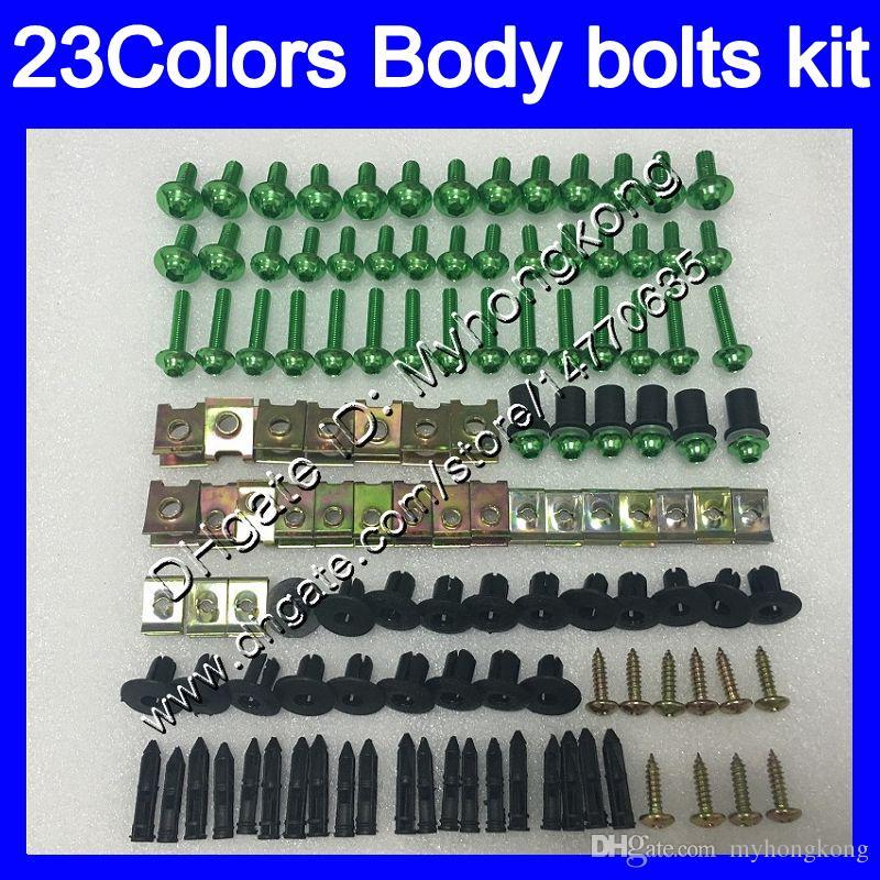 Fairing bolts full screw kit For KAWASAKI ZX2R ZXR250 1990 1991 1992 ZX 2R ZXR 250 ZX-2R 90 92 Body Nuts screws nut bolt kit 25Colors
