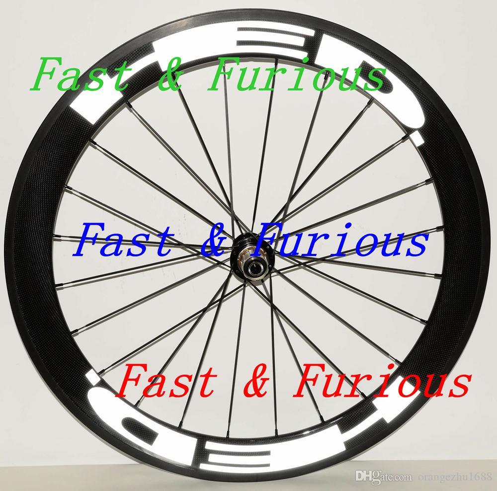 ¡Envío gratis! HED Ruedas de carbono 50 mm Abrazadera tubular Bicicleta de carretera Rueda de carbono 700C 23 mm ancho Bicicleta de carretera