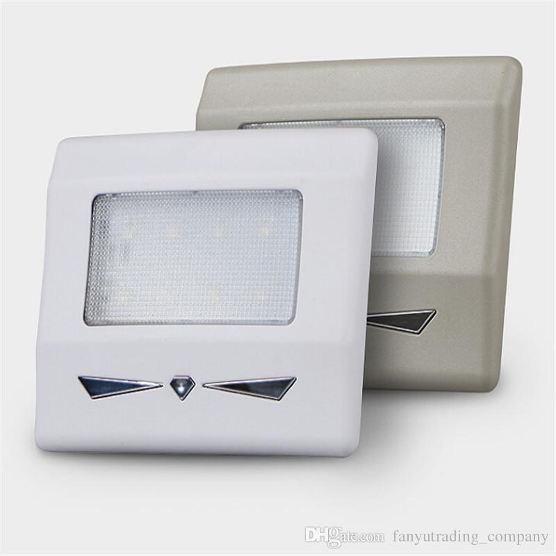 Universal Für Autos Lesen Kofferraum Dach Licht Home Bed Room Lampen Reise Rohr Auf helles Weiß Einfach Installieren Touch Control