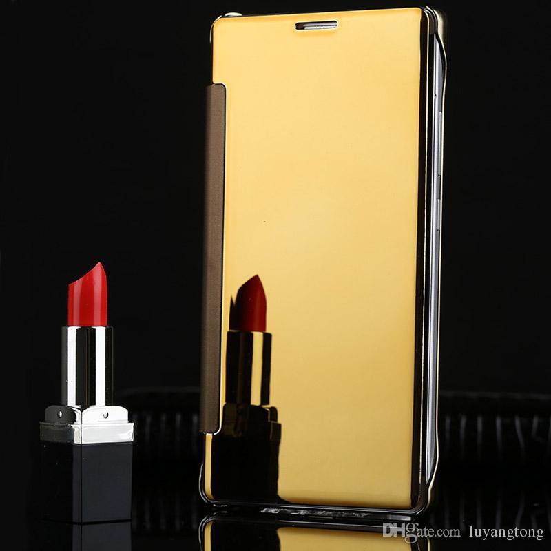 Téléphone Case Pour Samsung Galaxy S8 Plus Cas Smart Mirror Flip Couverture En Cuir Pour Samsung Galaxy S8 Coque S8 Plus Couverture Arrière