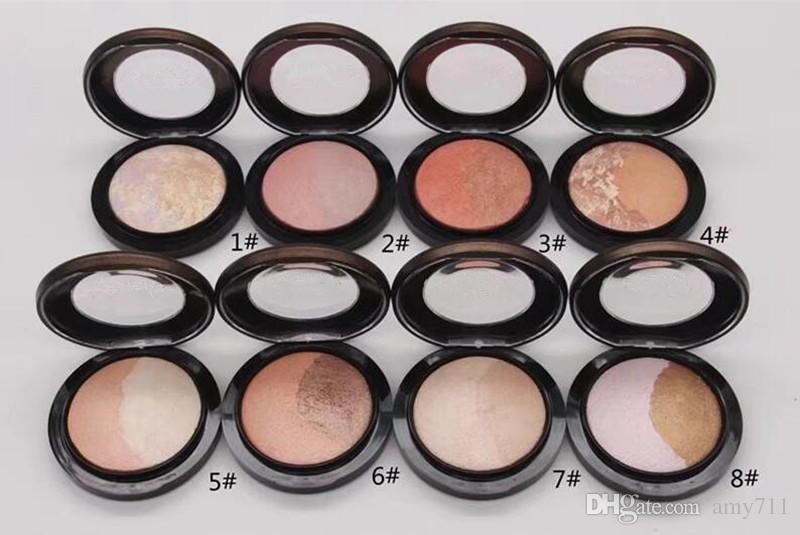 Nuovo trucco di marca Jade Jagger pelle finita cipria 6colors premuto polvere di alta qualità DHL LIBERA