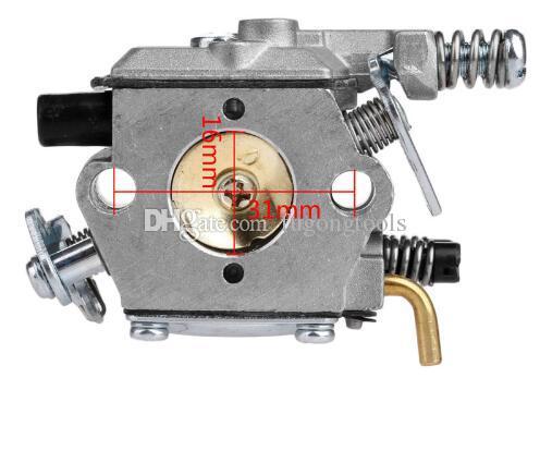 3800 38cc 4100 41cc Testere Karbüratör Carb Testere Yedek Parçaları için WALBRO Karbüratör Tipi Bahçe Aracı Parçaları
