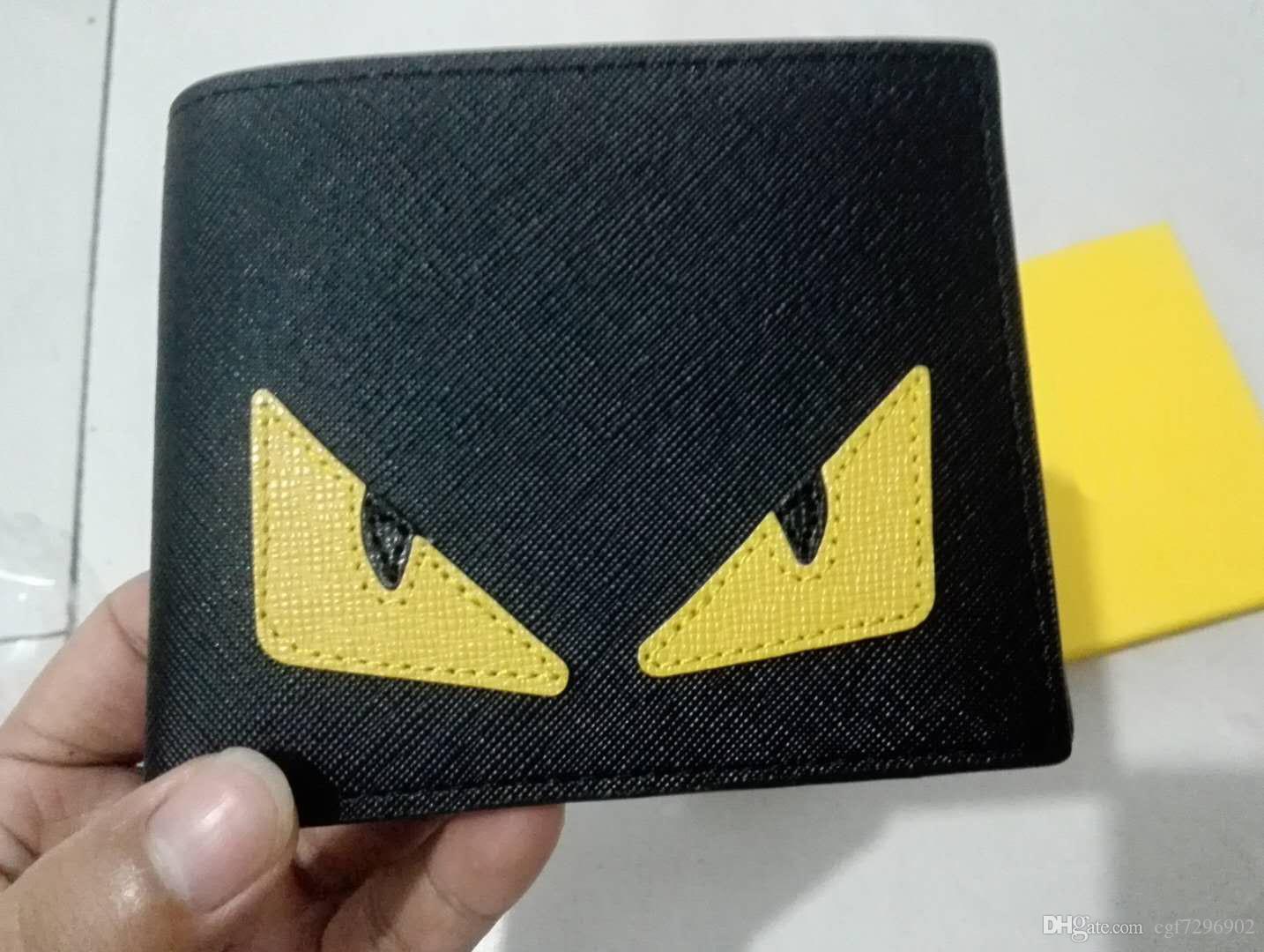 Toptan Avrupa tarzı cüzdan erkek ve kadın tasarımcı cüzdan yüksek kalite pu kart çanta kutusu ile çoklu stiller isteğe ...