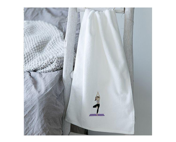 30x110CM Soft Cotton Fiber Durable Fast Drying Printing Bath Towel Bathroom Home Hotel Travel Gym Camping Sport Towel Supplies