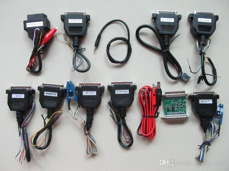 carprog 10.05 Full Package Carprog WIth Full Adapters Carprog V10.05 Car Prog ECU Chip Tuning Odometers programmer dhl free