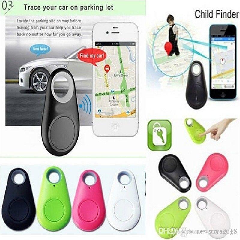 1pcs Bluetooth Smart Tracer GPS Locator Tag Wallet alarme clé Pet Dog Tracker pour les enfants trackers activité E280
