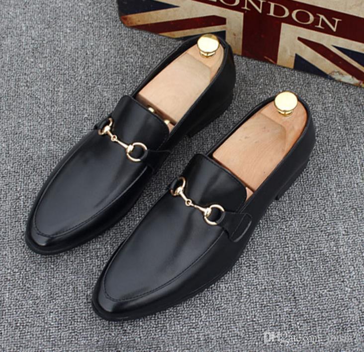 YENI erkek Ayakkabı tasarımcısı Deri Rahat Sürüş Oxfords Ayakkabı Erkek Loafer'lar İtalyan Ayakkabı erkek tasarımcı loafers37-45 x60
