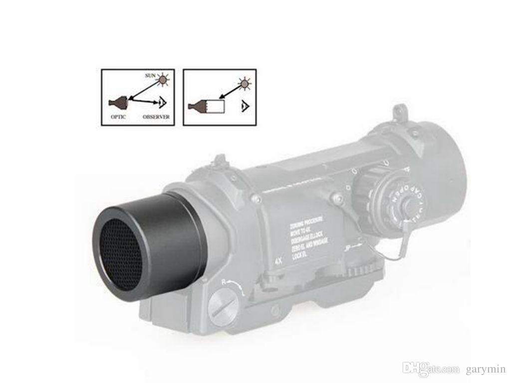 Taktische Metallgitter-Zielfernrohr-Schutzabdeckung für das Zielfernrohr DR 1X-4X mit einem Durchmesser von 36,8 mm