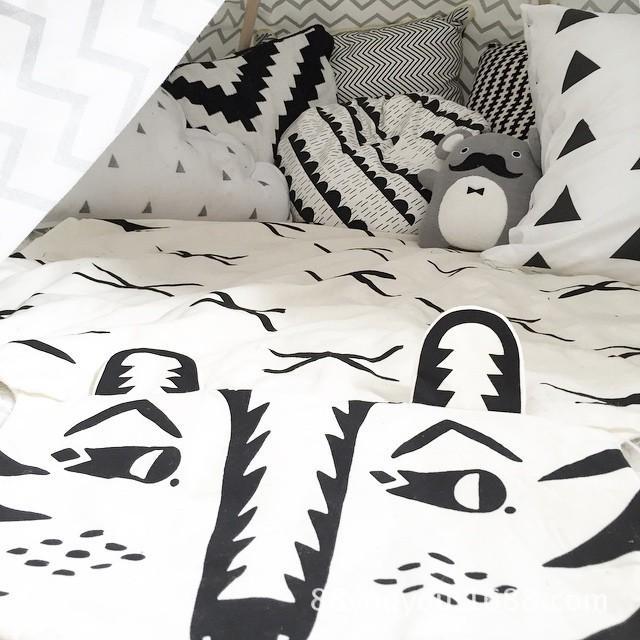 Nuevo diseño INS Baby Bear Blanket en el sofá y la silla Cute Carter Animal Carpet Acolted Jacket Newborn Swaddle Blanket 110 * 65cm