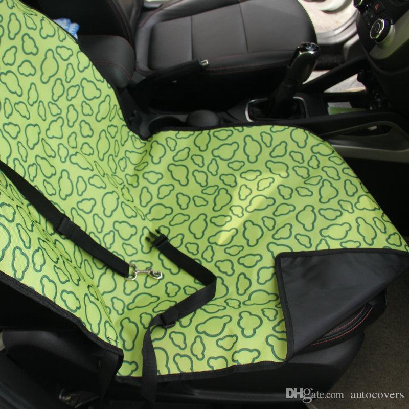 Pet Mat Siedzenia Samochodowe Okładki dla psów Bezpieczeństwo Wodoodporna Hamak Koc okładki Mata Samochód Wnętrze Akcesoria Podróżowe Oxford Front Seats Nylon Maty
