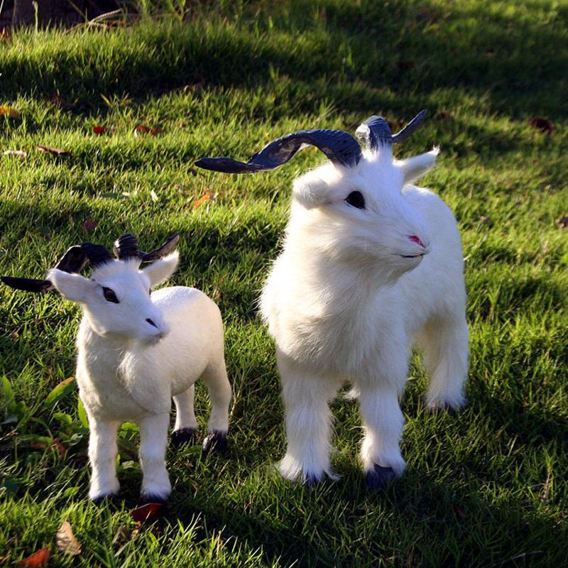 Simulation 1 pc chèvre de l/'artisanat jouets jouets ornements