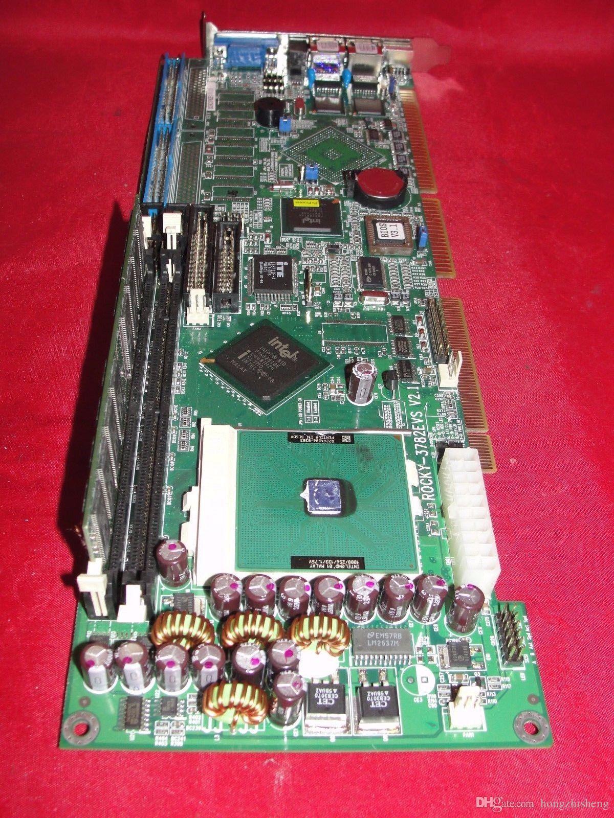 ROCKY-3782EVS V1.3 P3 Endüstriyel Anakart 100% mükemmel kalite test