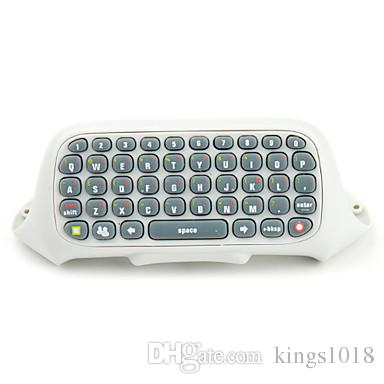 hot sale Game Keyboard Keypad ChatPad Wireless Controller Text Messenger W/ Backlight For XBOX 360 Controller Gamepad Black Professional