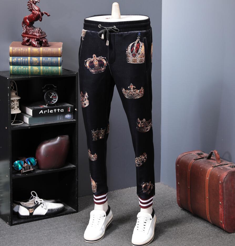 2019 Hosen Hip Hop Sportswear Fitness Hosen Herren Streetwear hochwertige Jogginghose H965