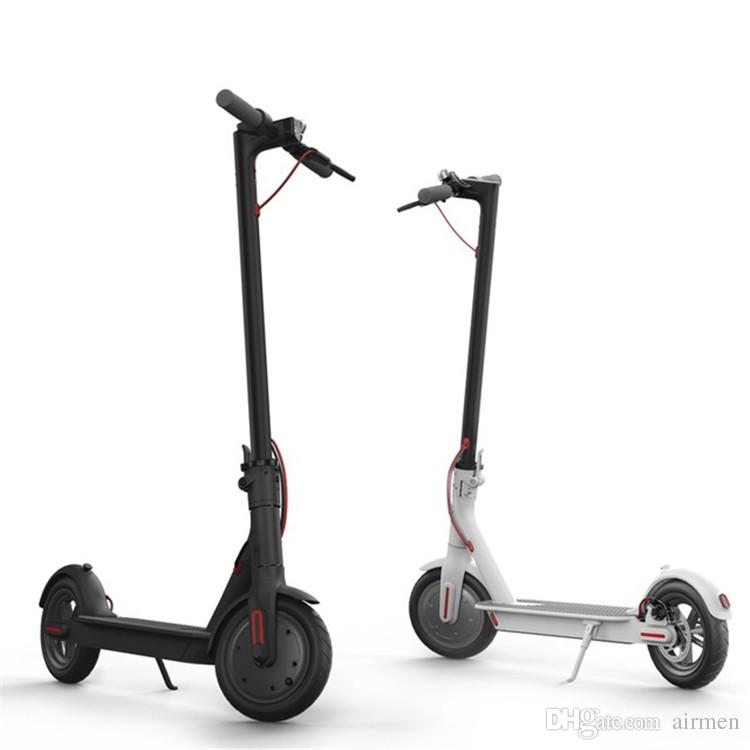 Nueva M365 inteligente Scooter eléctrico plegable ligera tabla larga del monopatín aerotabla el kilometraje 30KM con APP DHL FEDEX gratuito